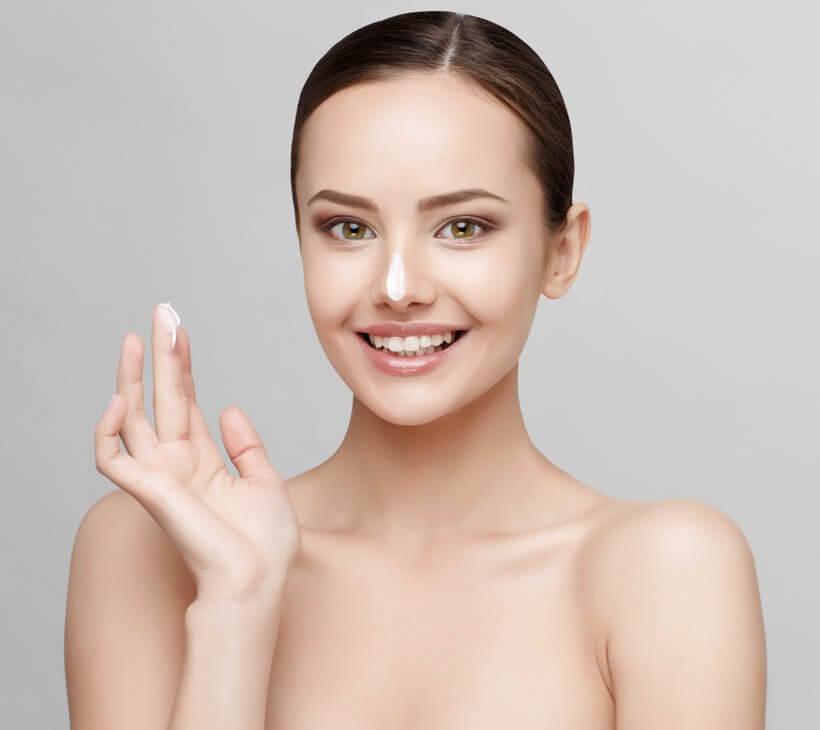 perfekte Hautpflege