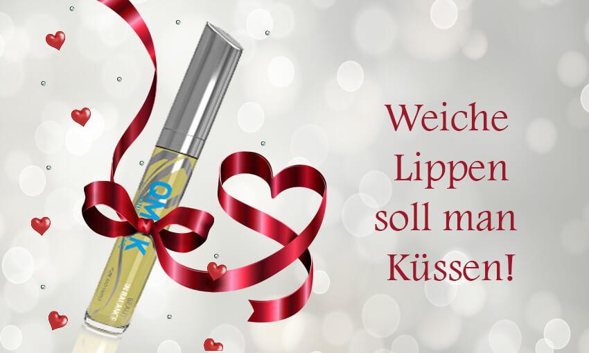 Qmilk Cosmetics Lip Balm - Geschenke Valentinstag → meine Liebste glücklich machen!